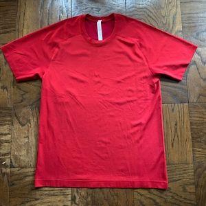 Mens Lululemon Metal Vent Short Sleeve Shirt NEW